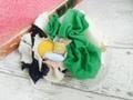 フラワーコラージュバレッタ ホワイト1