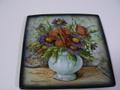 イタリア製 ITA-LICA ARS 飾り皿 水色花瓶 新品 定価19000円