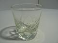 昭和レトロ カットガラスのお猪口 中古
