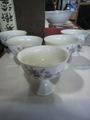 レトロ 陶器の氷カップ5客 デザート器 中古 美品