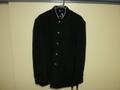 カンコー SF ラウンドカラー黒学生服(学ラン)180A ライナー付き 中古 新品ボタン取付 業者クリーニング済み