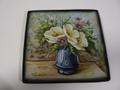 イタリア製 ITA-LICA ARS 飾り皿 紺色花瓶 新品 定価19000円