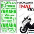 グラフィック デカール TMAX530 KIT FOGLIO  グリーン