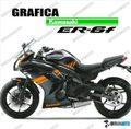 グラフィック デカール Ninja400 11-13  オレンジNE