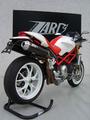 ZARD レーシング HI-UP フルエキゾーストマフラー DUCATI MONSTER S4RS /S4R テスタストレッタ 07年式