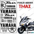 グラフィック デカール TMAX 01-07 KIT FOGLIO CAREN ブラック 500