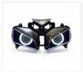 Demoneyes デーモンアイ HID プロジェクター LED ヘッドライトユニット ホワイト ホンダ CBR1000RR 2004-2007