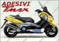 グラフィック デカール ブルー TMAX500 08-11KIT