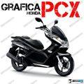 グラフィック デカール HONDA PCX125/150 RACING CARENE ブラック
