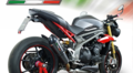 GPR GPEPO GPE EVO POPPY(公道仕様) シングルローマウント スリップオン マフラー Triumph Speed Triple S/R 2016-   T.87.GPEPO
