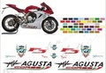 MV AGUSTA F3 CORSE グラフィック デカール セット KIT ADESIVI DECAL STICKERS MV AGUSTA F3 CORSE