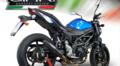 イタリア GPR DEEPTONE NERO(DENE) ブラック スリップオンマフラー(公道仕様) SUZUKI SV650 2017- S.193.DENE