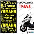 グラフィック デカール TMAX 08-11 FOGLIO 500 イエロー