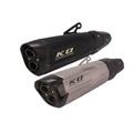 KO Lightning / 550mm Type:A~B スリップオン マフラー / 汎用品