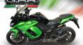 イタリア GPR FURORE NERO(FUNE) ブラック スリップオンマフラー(公道仕様) Kawasaki Ninja 1000 2011-2016 K.158.FUNE