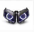 Demoneyes デーモンアイ HID プロジェクター LED ヘッドライトユニット ホワイト ホンダ CBR600RR 2007-2012