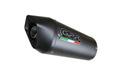 イタリア GPR / Furore カーボン 二本出し 触媒付き スリップオン マフラー 公道仕様 / スズキ SUZUKI V-STROM V-ストローム1000 2002-2013 CAT.57.FUCA