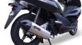 イタリア GPR TIBURON ステンレス 触媒付き(公道仕様) フルエキマフラー PCX125 12-13 HON.CAT.1.TIBIO