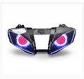 Demoneyes デーモンアイ HID プロジェクター LED ヘッドライトユニット レッド ヤマハ YZF-R6 2008-2016