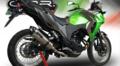 イタリア GPR GPETO チタン カーボンエンド スリップオン マフラー Kawasaki VERSYS-X 250 K.165.GPETO