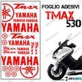 グラフィック デカール TMAX530 KIT FOGLIO  レッド