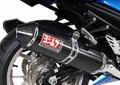 USヨシムラ TRC カーボン デュアル スリップオン マフラー 06-11 ZX14 ZZR1400
