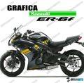 グラフィック デカール Ninja400 11-13  ゴールド