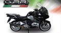 イタリア GPR TRI Tri-Oval NERO スリップオン マフラー (公道仕様)BMW R1200RT 2015-