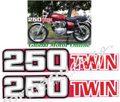 グラフィック デカール   Honda CB250 1978