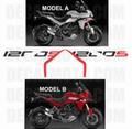 カスタム グラフィック デカール ステッカー 車体用 / ドゥカティ ムルティストラーダ 1200 2010 - 2014 / SIGN S サイン エス
