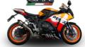イタリア GPR GPE EVO TITANIUM ショートレーシング スリップオン マフラー CBR1000RR 14- (競技走行専用) H.242.RACE.GPETO