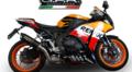 イタリア GPR FURORE NEROスリップオン マフラー CBR1000RR 14- (公道仕様) H.242.FUNE