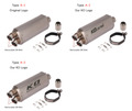 KO Lightning / 430mm Type:A1~3/B1~3/C1~3 スリップオン マフラー / 汎用品