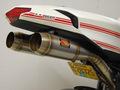 Competition Werkes GP Slip-on マフラー ステンレス +フェンダーキット Ducat 1098/1198/848 08-11 WD1098-S +LTD FENDER KIT