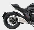 ZARD SS/AL/RACE スリップオン マフラー ステンレス(シルバー)アルミエンド 競技走行専用 Ducati Diavel 10- ZD117SSR