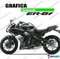 グラフィック デカール Ninja400 11-13  ホワイト