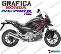 グラフィック デカール  HONDA NC700X RACING GRAPHICS HRC