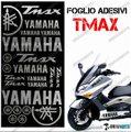 グラフィック デカール TMAX T MAX 01-07 KIT FOGLIO 500 シルバー