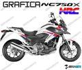 グラフィック デカール  HONDA NC750X RACING GRAPHICS HRC