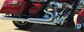 D&D M8 Billet Cat 2:1 Chrome Full System Chrome Str Cut End Harley Touring 2-1 フルエキゾーストマフラー ハーレー ツーリングモデル 2017- 15%馬力向上