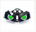 Demoneyes デーモンアイ HID プロジェクター LED ヘッドライトユニット グリーン ホンダ CBR600RR 2003-2006
