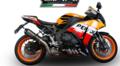 イタリア GPR GPE EVO POPPY スリップオン マフラー CBR1000RR 14- (公道仕様) H.242.GPEPO