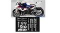 グラフィック デカール ステッカー 車体用 / BMW S1000RR / HP4 / アンダーカウル ベリーパン スポンサー デカール スーパーバイク SBK 2012