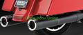 バンス&ハインズ HI-OUTPUT Slip-Ons Black スリップオン マフラー ツーリング   46759