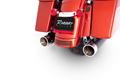 ラインハート RINEHART 4インチ スリップオン マフラー ツーリング  ブラック クロームエンド 500-0103C
