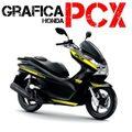 グラフィック デカール HONDA PCX125/150 RACING CARENE イエロー