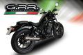 イタリア GPR / Ultracone スリップオン マフラー 公道仕様 / ホンダ HONDA レブル REBEL 250 / 500 2018-2019 H.250.ULTRA