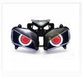 Demoneyes デーモンアイ HID プロジェクター LED ヘッドライトユニット レッド ホンダ CBR1000RR 2004-2007