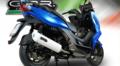 イタリア GPR ALBUS フルエキ マフラー KYMCO K-XCT 125 2015- KYM.3.ALB