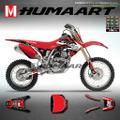 グラフィック デカール ステッカー 車体用 / ホンダ CRF150R 2007-2020 / HUMA ART フマアート / HA-CRF150R-0720-001